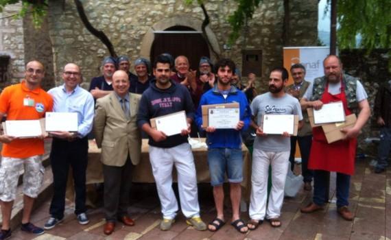 Premiazione concorso ONAF del miglior formaggio