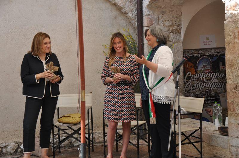 Inaugurazione della Mostra Mercato alla presenza dell'Onorevole Maria Elena Boschi e della Presidente della Regione Umbria Catiuscia Marini-3