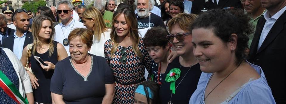 Inaugurazione della Mostra Mercato alla presenza dell'Onorevole Maria Elena Boschi e della Presidente della Regione Umbria Catiuscia Marini-12