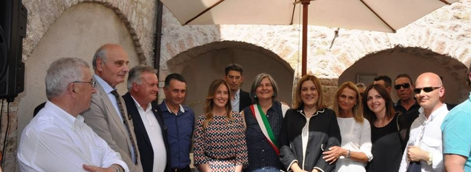 Inaugurazione della Mostra Mercato alla presenza dell'Onorevole Maria Elena Boschi e della Presidente della Regione Umbria Catiuscia Marini-26