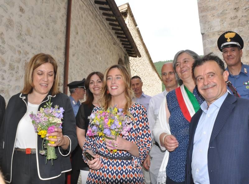 Inaugurazione della Mostra Mercato alla presenza dell'Onorevole Maria Elena Boschi e della Presidente della Regione Umbria Catiuscia Marini-10