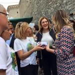 Inaugurazione della Mostra Mercato alla presenza dell'Onorevole Maria Elena Boschi e della Presidente della Regione Umbria Catiuscia Marini-8